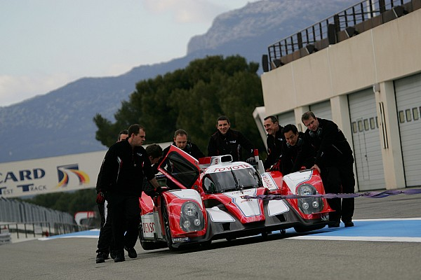 Sarrazin to race Toyota Hybrid in his homeland