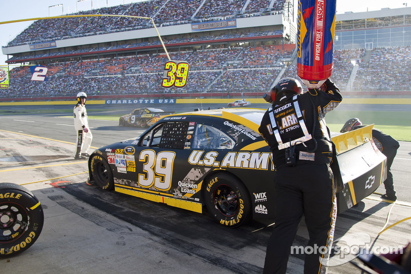 Newman finishes 14th in Charlotte 600