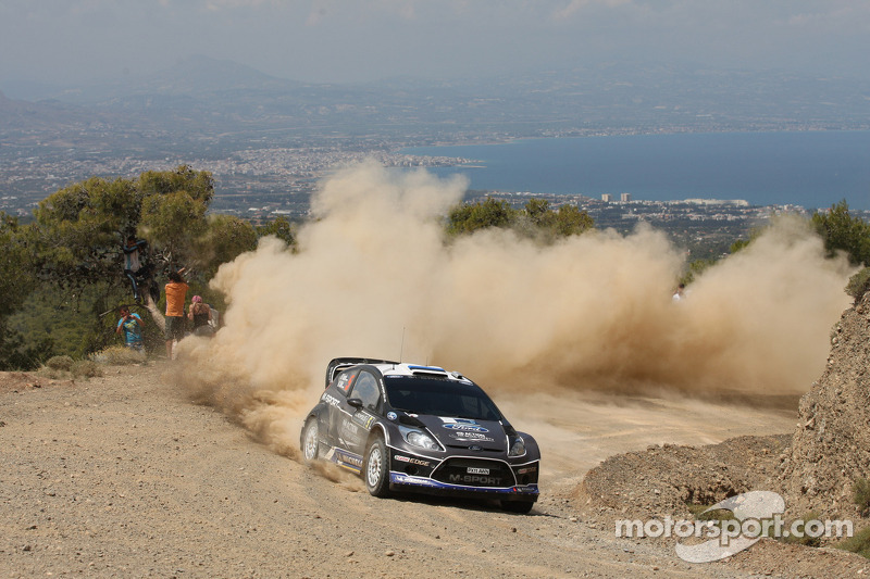 Strong recovery sees M-Sport's Tänak take points in Greece