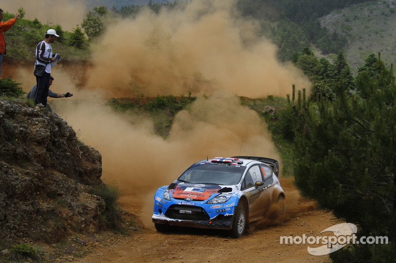 Elsewhere Ford drivers comment on finale of Acropolis Rally