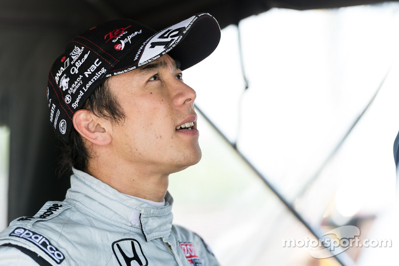 Sato sailing before Belle Isle crash