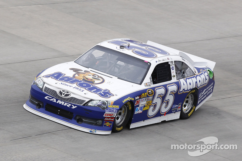 Mark Martin paces Pocono test