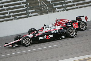 Power, Dixon receive penalties for engine changes at Iowa test