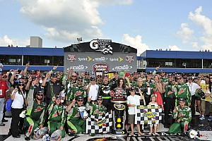 NASCAR Sprint Cup Junior's win calls for a holiday