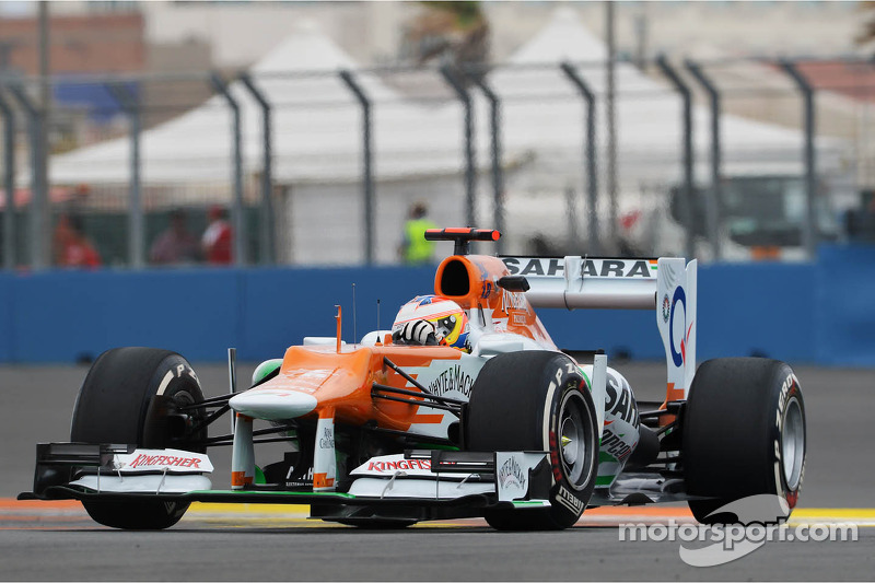 Force India 'massively quick' at Valencia