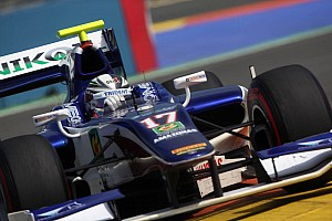 GP2 Race report Trident Racing scores points in Race 2 at Valencia