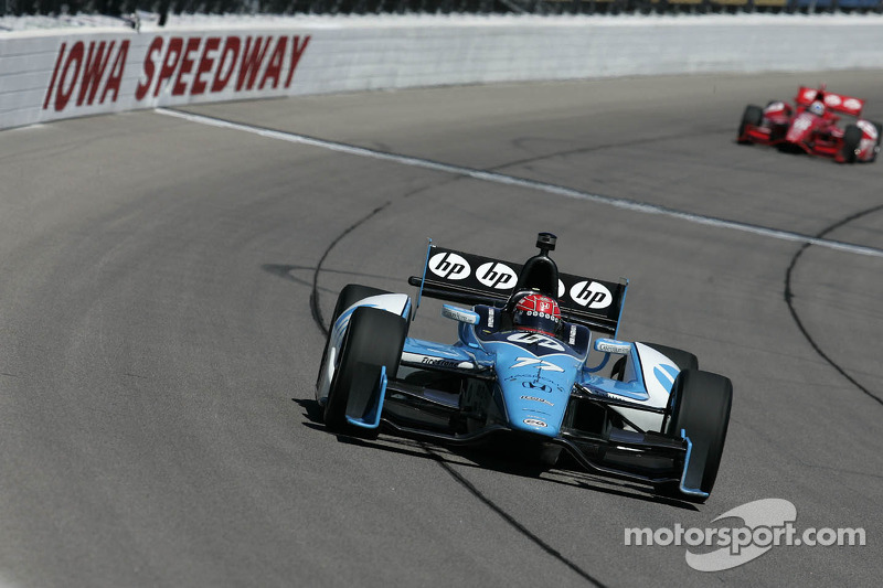 Pagenaud's team penalized for improper Iowa fuel cell