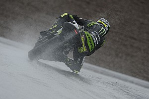 MotoGP Qualifying report Crutchlow close to front row at rain-soaked Sachsenring