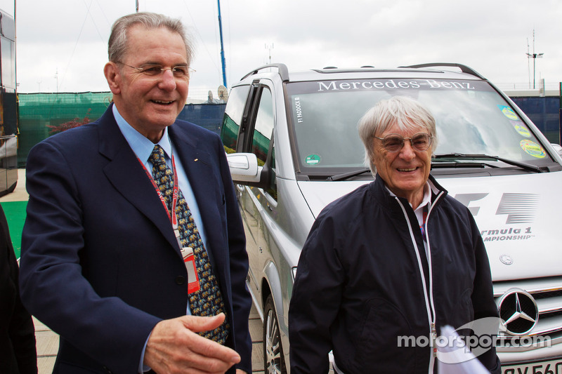 Ecclestone insists London GP plans 'no joke'