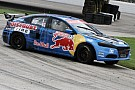 Travis Pastrana gets breakthrough Global Rallycross win at Loudon