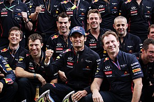 Webber speaks out on his decision to stay with Red Bull
