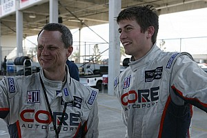 ALMS Qualifying report CORE autosport qualifies 1-2 at Mosport