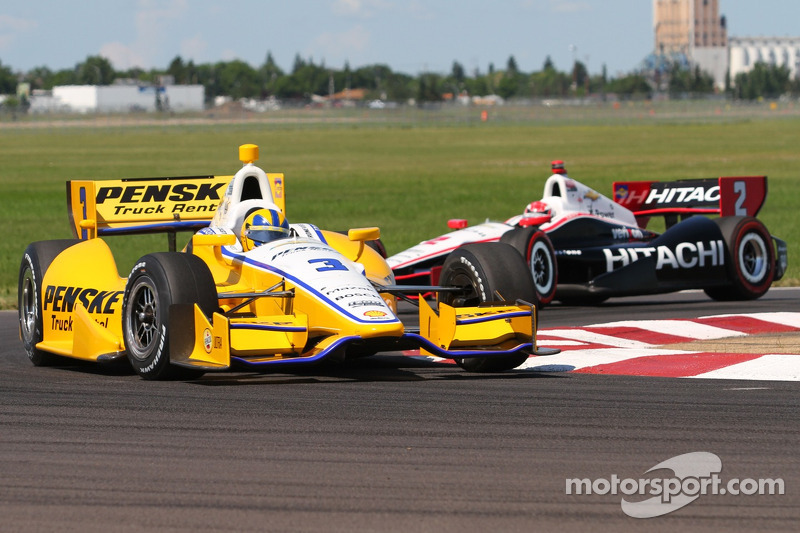 Penske power prevalent with a trio of top 10s at Edmonton