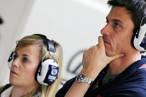 Wolff to assist team boss Frank Williams