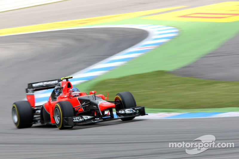 Mixed emotions at  Hockenheimring for Marussia