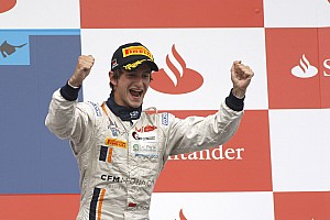 GP2 Race report Richelmi, Trident Racing score podium finish at Hockenheim race 1