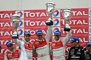 Endurance Race report Piccini, Stippler and Rast take fighting win for Audi at Spa 24
