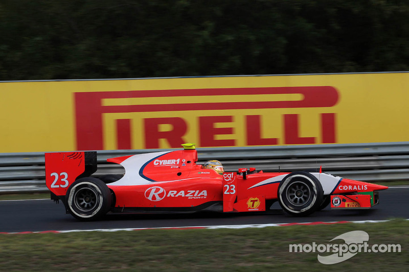 Bold tyre strategies help GP2 and GP3 drivers to success in Budapest