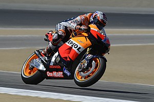 MotoGP Race report Stoner's soft approach leads to Laguna Seca victory
