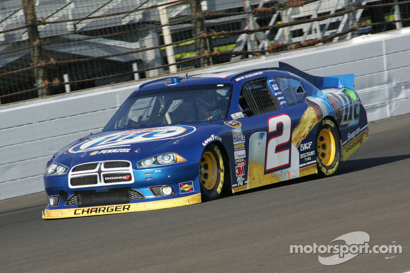 Keselowski comes up just short on final restart at Pocono