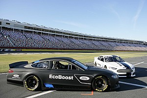 NASCAR Sprint Cup Breaking news Edwards tests 2013 Fusion, focuses on winning
