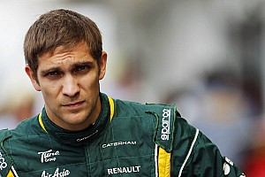 Petrov not 'nervous' about 2013 Caterham seat