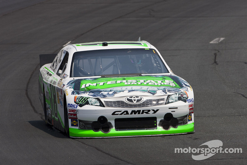 Kyle Busch hopes to win again at Michigan