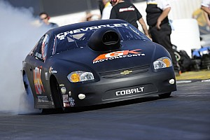 NHRA Qualifying report Enders holds on to top spot at Brainerd, seeks back-to-back wins Sunday