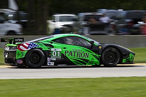 ALMS Race report Podium finish for ESM Patrón  at Road America