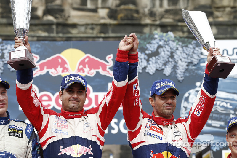 Loeb and Elena pocket their ninth Rallye Deutschland victory