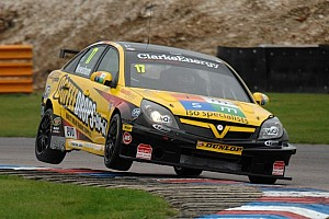 BTCC Race report Newsham takes home win in race 3 at Knockhill
