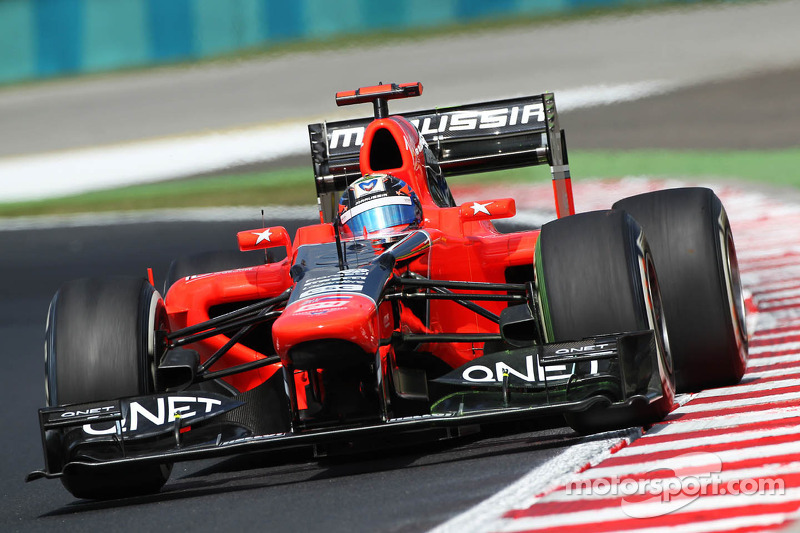 SPA Therapy for Marussia F1 Team