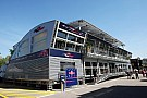 Red Bull hospitality unit - video tour