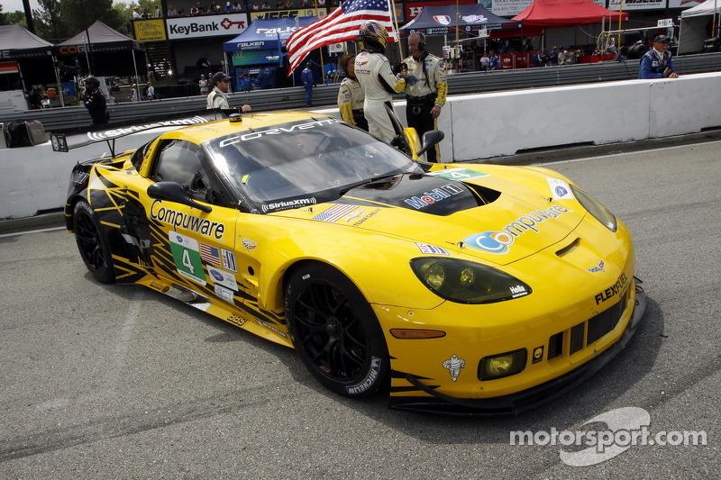 Corvette Racing wins GT pole for Baltimore street race