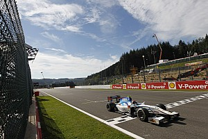 GP2 Race report Barwa Addax's Kral drives to a commanding victory in Spa