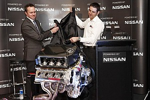 V8 Supercars Special feature Nissan and Kelly Racing unveil engine technology in Melbourne - Video