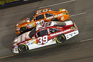 NASCAR Sprint Cup Race report Newman stages valiant effort at Richmond