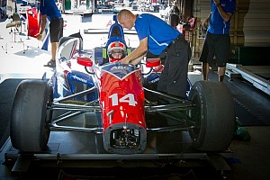 IndyCar Breaking news Conway steps down and Cunningham steps up for A.J. Foyt at Fontana