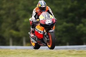 MotoGP Qualifying report Pedrosa snatches pole position in Misano qualifying