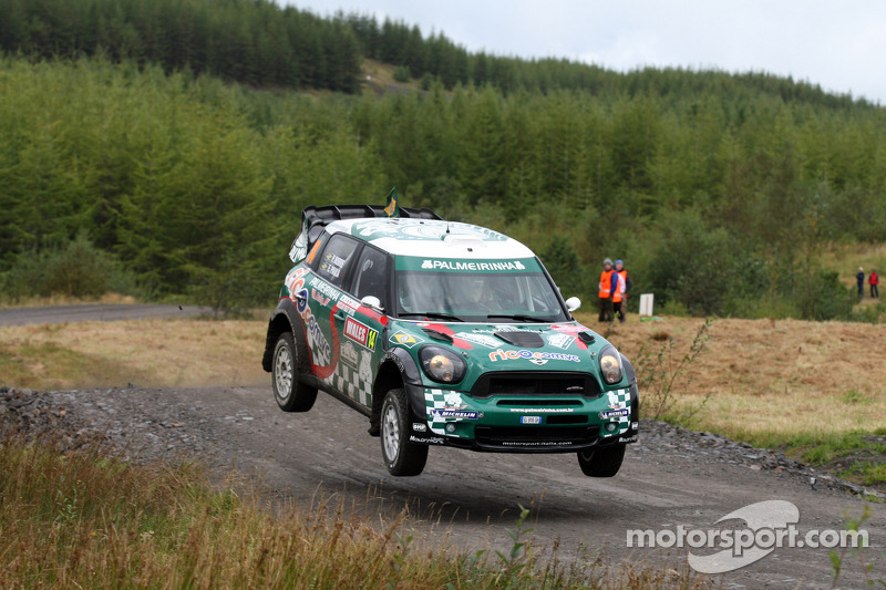 Team MINI Portugal's 'Atko' lands in the points in Wales Rally GB