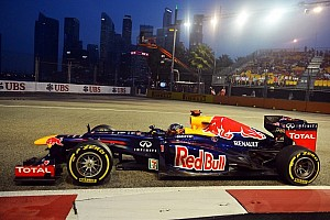 Formula 1 Practice report Vettel fastest in Singapore night sessions