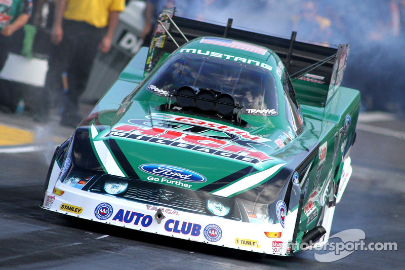 John Force on winning inaugural Nitro Shootout Funny Car race