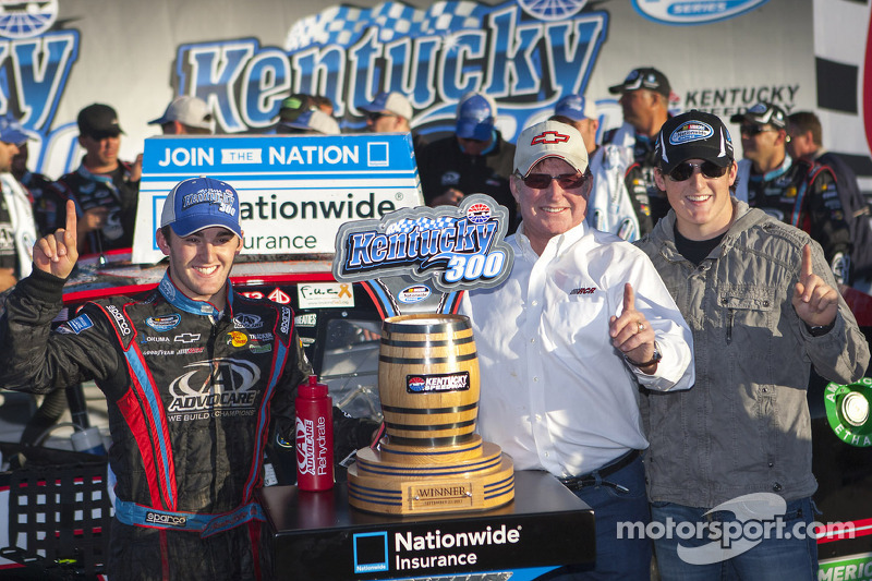 Dillon wins, Gaughan third for RCR at Kentucky