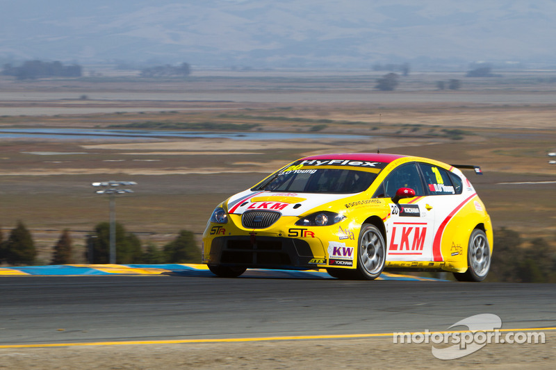 O'Young salvages points despite problems at USA debut Sonoma races