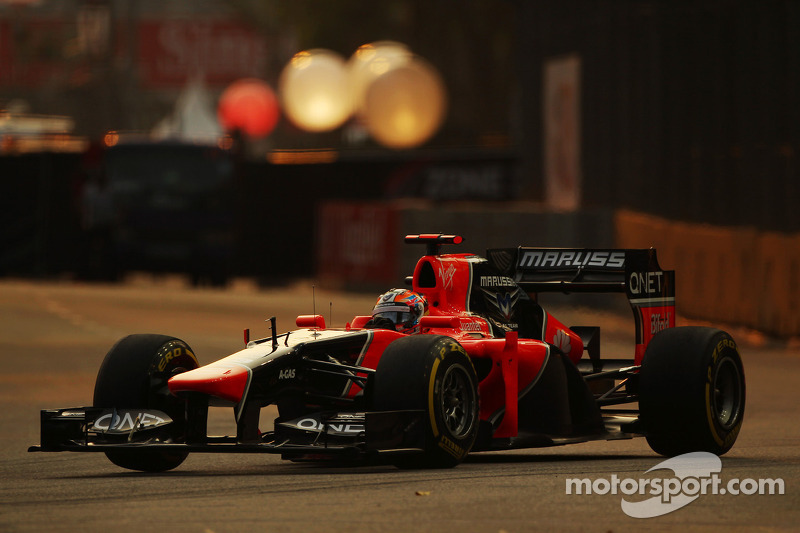 Marussia enjoy the Suzuka experience