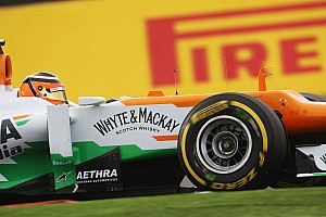 Force India continued to show good speed in Suzuka