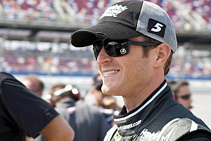 Kahne and Newman sweep front row in Talladega qualifying