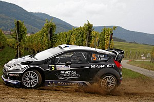 WRC Leg report M-Sport Ford drivers showed composure in Rally France
