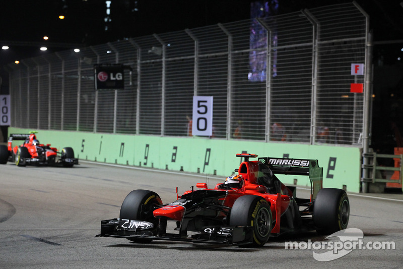 Marussia's Glock and Pic ready for Korean Grand Prix
