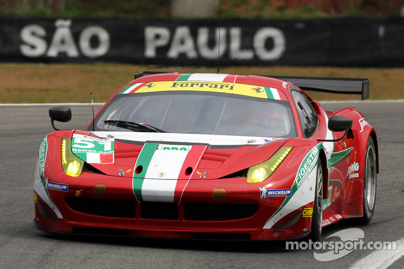 AF Corse Ferrari ready for challenge of Fuji